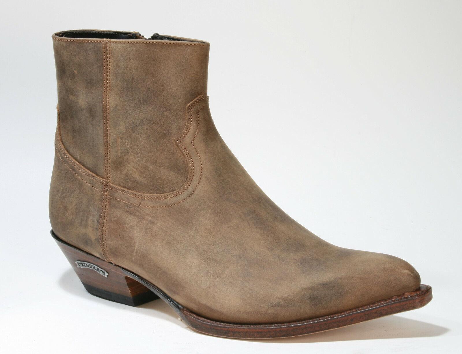 13659 Sendra Stiefelette Kansas Lavado Rahmengenähte Schuhe
