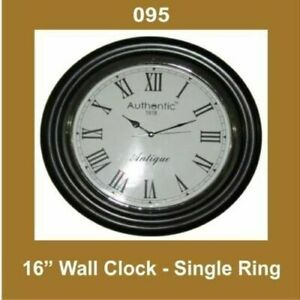 New-Wall-Clock-16-039-039-Single-Ring-Nautical-Roman-Number