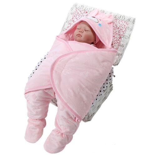 0-3 3-6 Monate Baby Kleinkinder Nachtwäsche Kinderzimmer Bett sleepsacks