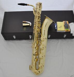Prof Taishan Unlacquer Naked Brass Eb Baritone Saxophone