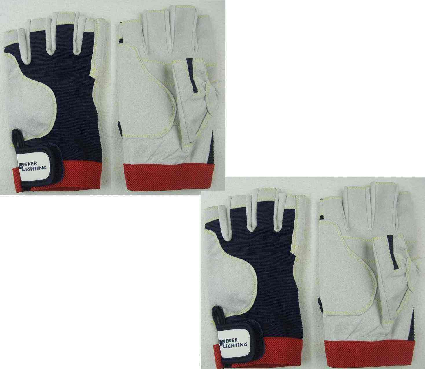 2 Paar AMARA Fahrradhandschuhe XL (10) Rigging Handschuhe Rigger Radhandschuhe