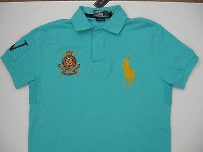 POLO RALPH LAUREN Men's Custom-Fit Short-Sleeve Jockey Club Polo XL NEW!!