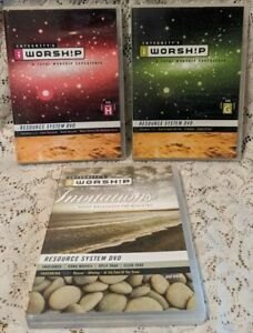 Integrity-039-s-iWorship-Resource-System-Lot-of-3-DVDs-Vol-G-H-amp-Invitations-Faith
