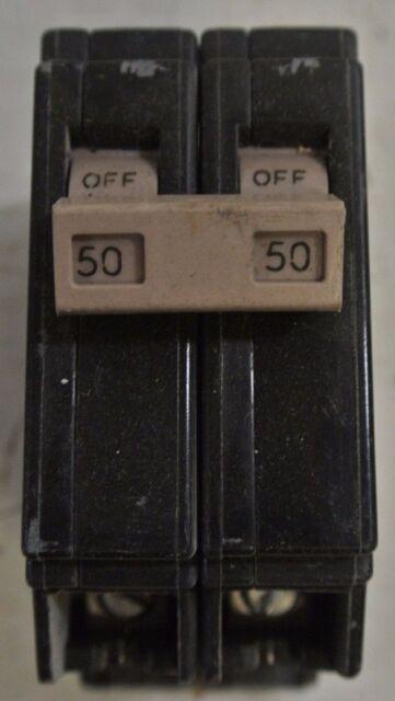 New EATON GFTCB 2 pole 15 amp 240//120v GFTCB215 Circuit Breaker Cutler Hammer