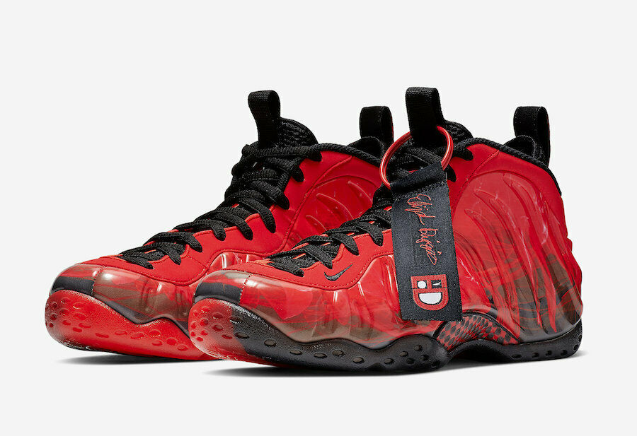 NEW 2019 NIKE NIKE NIKE AIR FOAMPOSITE ONE DOERNBECHER CHALLENGE RED BLACK 641745-600 0f40ee