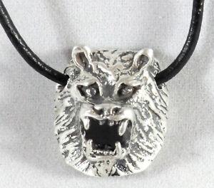 Wolf-Kopf-Anhaenger-Daemon-Werwolf-Kettenanhaenger-925er-Sterling-Silber-Neu