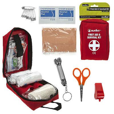 Candido Kit Di Pronto Soccorso-summit Campeggio E Outdoor Sicurezza Usura/attrezzature-mostra Il Titolo Originale Durevole In Uso