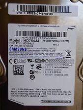 Samsung HD754JJ | PN: 62823-C741-A148S  | 2010.04 | 750 GB