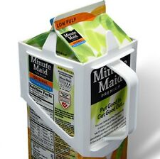 CARTON CADDY® 1/2 GALLON (2 LITERS) MILK OR JUICE CONTAINER HOLDER GREAT GIFT