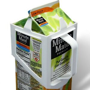 CARTON-CADDY-1-2-GALLON-2-LITERS-MILK-OR-JUICE-CONTAINER-HOLDER-GREAT-GIFT