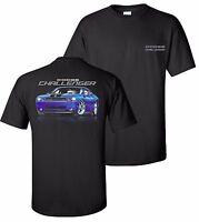Dodge Challenger Srt T-shirt Muscle Car Mopar Hemi 2008 2009 2010 2016 2017