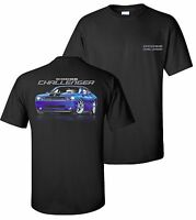 Dodge Challenger Srt T-shirt Muscle Car Mopar Hemi 2008 2009 2010 2016 2017
