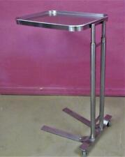 Mayo Stainless Steel Surgical Or Room Instrument Table With Removable Tray 35 58