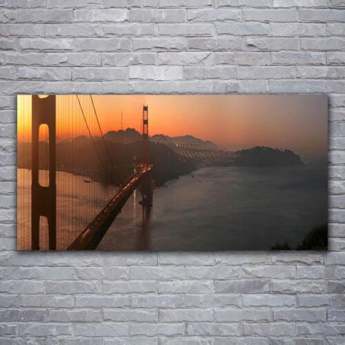 Wandbilder Glasbilder Druck auf Glas 120x60 Brücke Architektur