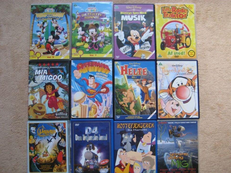 tegnefilm, instruktør tegnefilm, DVD