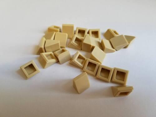 New Element 4516055 Part 54200 Qty:25 Lego Tan Slope 30 1x1
