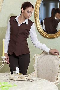 Caricamento dell immagine in corso Gilet-Panciotto-Donna-Lavoro -Business-Elegante-Cameriera-Bar- 50f0f1dbc1d0
