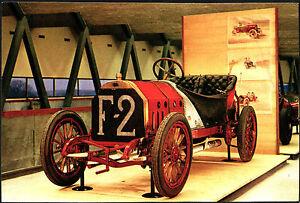 CARTOLINA-FIAT-GRAND-PRIX-1907-MUSEO-DELL-039-AUTOMOBILE-ROTOCALCO-FUMERO