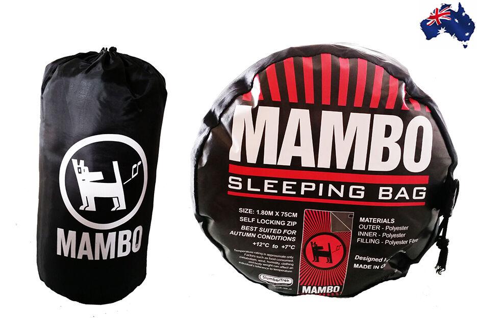 Aus Qlty Mambo Outdoor Slumber Sleeping Bag Camping Hiking