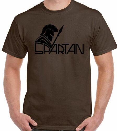 Spartan T-Shirt Formation de Mens Haut Gym Mma Boxe Muscle Haltérophilie Warrior