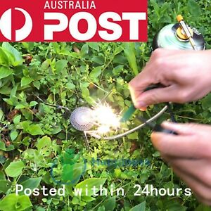 Flint Rod Camping Hiking Survival MINI Fire Starter Lighter (FULL Magnesium Rod)