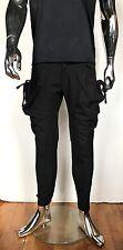 BIG Cargo String MENS Black Kangaroo Baggy Pocket Pants Guylook Avant Garde