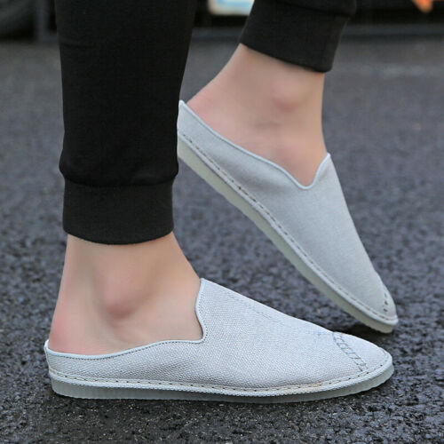 Men Slingbacks Loafers Shoes Driving Moccasins Pumps Slip on Breathable Casual B