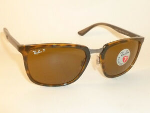 f7ef44775a97e New RAY BAN Sunglasses Tortoise Frame RB 4303 710 83 Polarized Brown ...