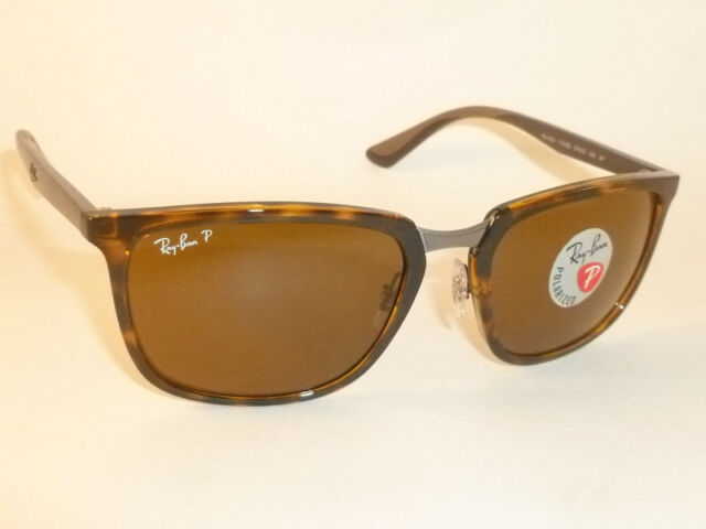 d39a857c83 New RAY BAN Sunglasses Tortoise Frame RB 4303 710 83 Polarized Brown Lenses