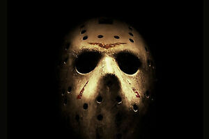 Friday The 13th Jason Voorhees WALL ART CANVAS FRAMED OR POSTER PRINT