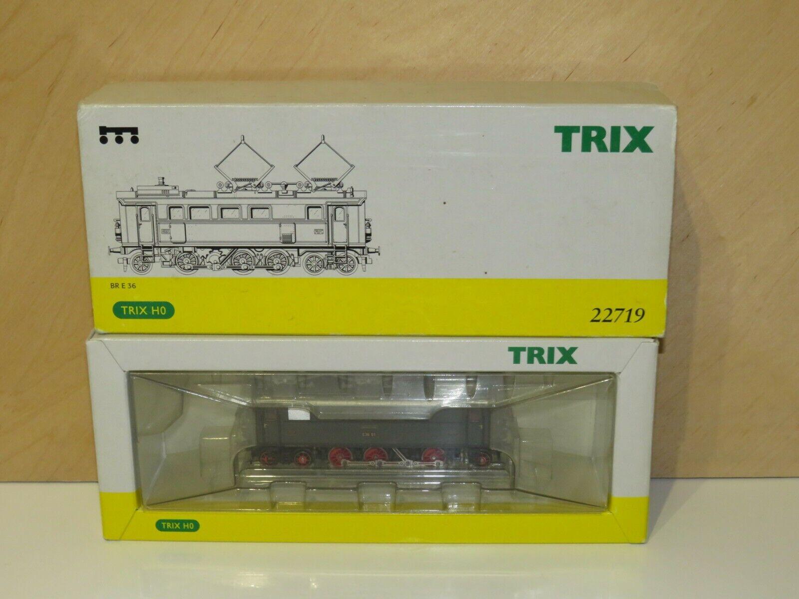 H0 Trix 22719 DSS Elektrolok DRG BR E 36 01 TOP OVP  3631