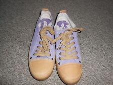 20 188/10 TAMARIS Damen Schuhe Schnürer Sneaker Gr. 39 flieder beige Leder TREND