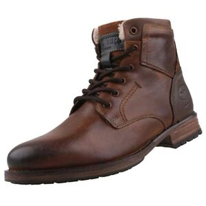 49980480d4e07b Dockers by Gerli 43DY103 Men s Combat Boots Ankle Boots Leather ...