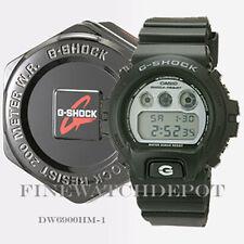 Authentic Casio G-Shock Men's Black Classic Series Digital Watch DW6900HM-1