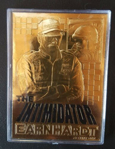 1999  DALE EARNHARDT SR 23 Kt Gold Cards Silver Stars  #3 Signature Nascar 2