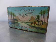 Zigarettendose um 1900 Engelhardt Mazeppa flache 100er oriental cigarette tin