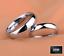 miniatura 2 - Fedi-Fedine-Fidanzamento-semplici-Anelli-Argento-925-Rodiato-Uomo-Donna