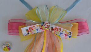 Prinzessin-Schultuetenschleife-Belle-Cinderella-Zuckertuetenschleife-Disney