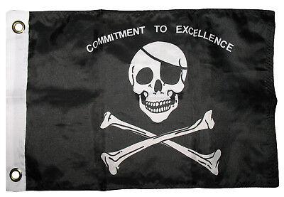 12x18 Jolly Roger Pirata Fidanzamento A Eccellenza Barca Bandiera Anelli Di Saldi Di Fine Anno