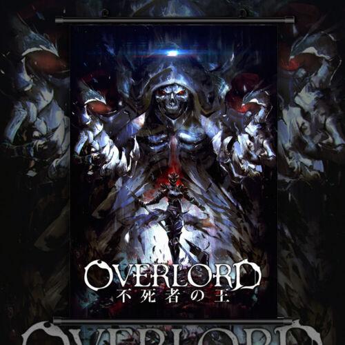 Overlord Anime Manga Wallscroll Poster Kunstdrucke Bider Drucke