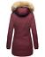 Marikoo-Karmaa-Damen-WinterJacke-Steppjacke-winter-Parka-Mantel-warm-gefuttert miniatuur 37