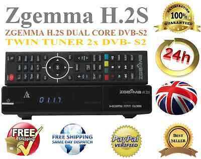 2016 ORIGINAL-ZGEMMA-H-2S-DUAL-CORE-SATELLITE-RECEIVER-DVB 2s S2 H.2sTop Service