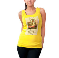 Iceberg Ladies Vest Top With Photo Car Print
