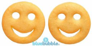 Bluebubble-AMERICAN-DINER-Smiley-Face-Stud-Earrings-Novelty-Junk-Food-Kawaii-Fun