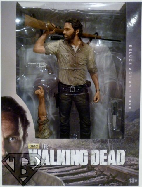 "AMC/'s THE WALKING DEAD Rick Grimes 10/"" Deluxe Action Figure"