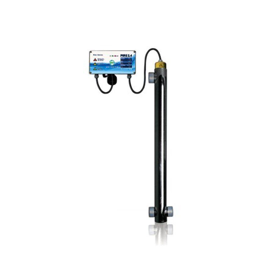 PURE 2.4 - 40W - UVC Anlage zur Wasseraufbereitung - Pool Teich Trinkwasser UV-C
