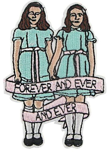 """The Shining Girls Embroidered 3.25/"""" Tall Iron on Patch"""