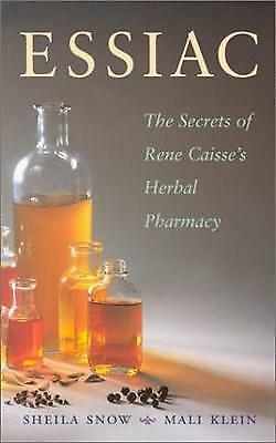 (Very Good)-Essiac Secrets: The Secrets of Rene Caisse's Herbal Pharmacy (Paperb