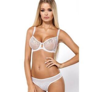 82594e8b4 Image is loading Sexy-Sheer-Full-Figure-Bra-PariPari-Lingerie-Abby