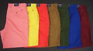 TOMMY-HILFIGER-Men-The-Flex-Stretch-Cotton-9-034-Inseam-Chino-Shorts-NEW-NWT